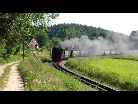 Rasender Roland - Rügensche BäderBahn (HD)