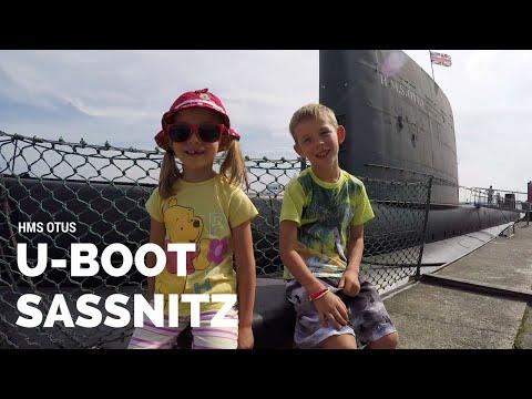 Okręt podwodny w Sassnitz - U-Boot HMS Otus