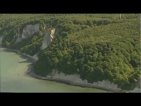 Insel Rügen: Nationalpark Jasmund - Kreidefelsen und Buchenwälder an der Ostsee