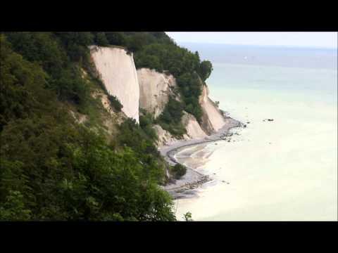 [Full HD] Kreideküste auf Insel Rügen: Wissower Klinken | merq.de/ruegen