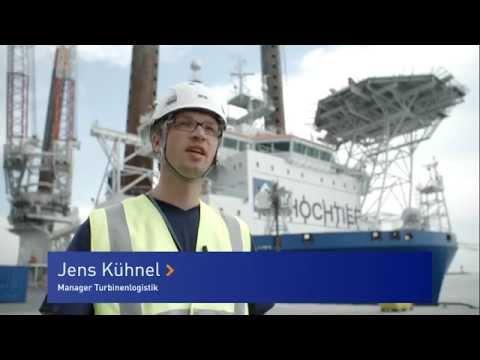 Meilenstein im Offshore-Windpark EnBW Baltic 2