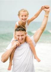 Familie am Rügen Strand