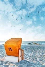 Strandkorb auf Rügen
