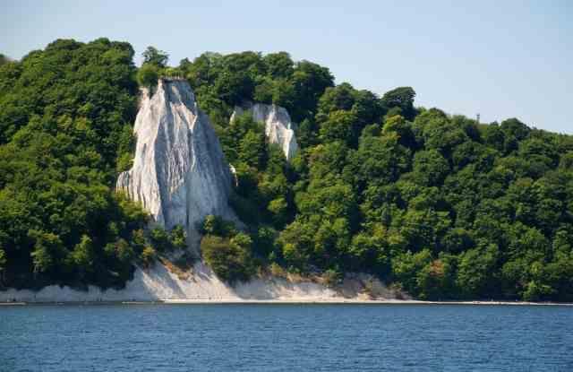Der Königsstuhl auf der Insel Rügen