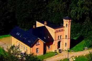 Nebengebäude des Jagdschlosses Granitz