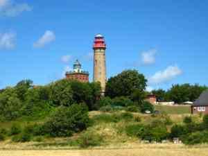 Der Schinkelturm am Kap Arkona auf Rügen
