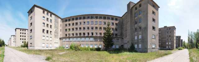 Das KdF Bad in Prora auf Rügen