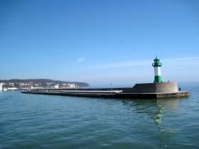 Längste Mole Europas - Sassnitz Hafen