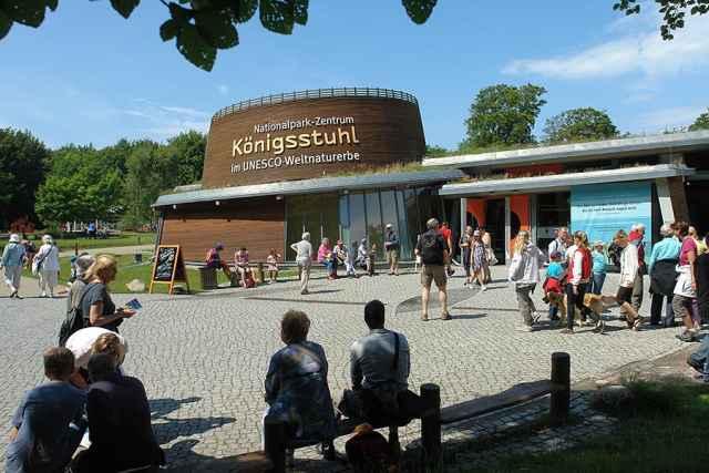 Nationalparkzentrum Königsstuhl auf der <a href=