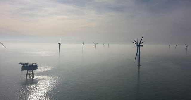 """Der neue """"Wickinger"""" Windpark vor Rügen"""