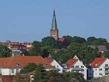Bergen als Ort auf Rügen