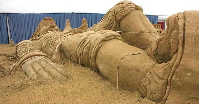 Sandskulpturen Festival 2015 auf Rügen