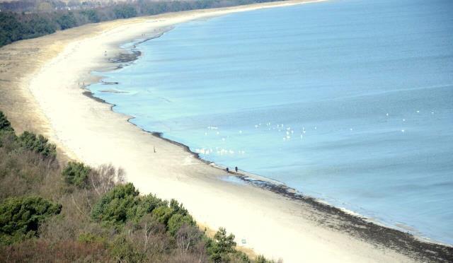 Die Strände von Rügen und Hiddensee zeichnen sich durch ihre hervorragende Wasserqualität aus