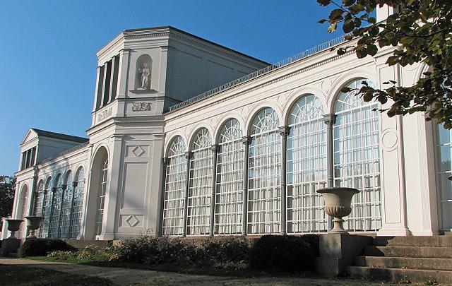 Die Orangerie in Putbus auf Rügen