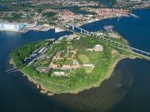 Insel Dänholm ist Rügens Nachbarinsel